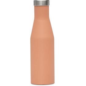 MIZU S4 Drinkfles with Stainless Steel Cap 400ml oranje